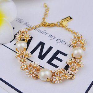 Kate Spade Pearl Gemstone Bracelet
